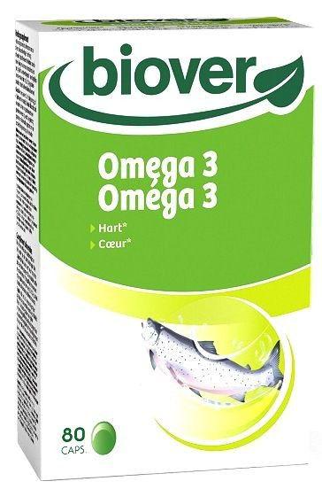 Biover EPA Omega 3 y DHA 80 cápsulas