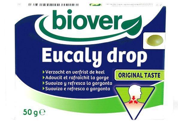 Biover Eucaly Drop 36 caramelos blandos