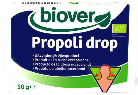 Biover Propoli Drop 36 caramelos blandos