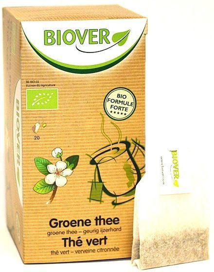 Biover Té Verde Infusión 20 sobres