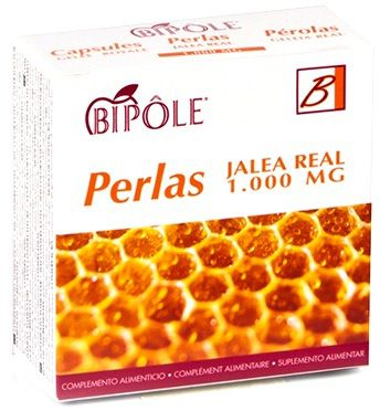 Bipole Jalea Real Fructosa 500mg 20 ampollas