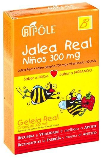Bipole Jalea Real Infantil 20 ampollas