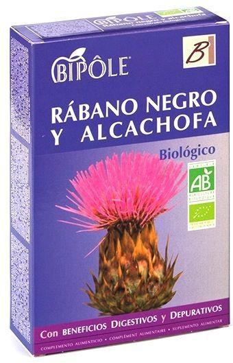 Bipole Rábano Negro y Alcachofa 20 ampollas
