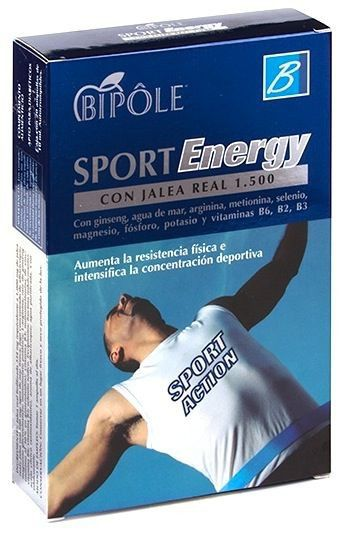 Bipole Sport Energy 20 ampollas