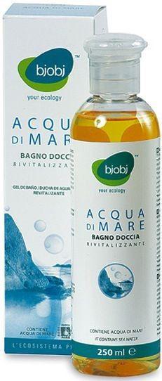 Bjobj Gel Baño y Ducha Agua de Mar 250ml