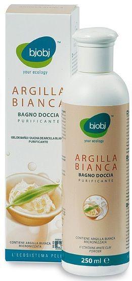 Bjobj Gel Baño y Ducha Arcilla Blanca 250ml