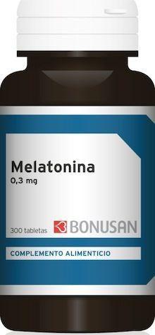 Bonusan Melatonina 0,3mg 300 comprimidos