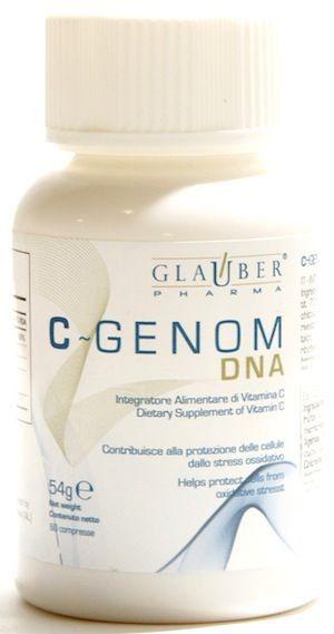 Glauber Pharma C-Genom DNA 60 comprimidos