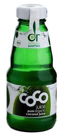 Coco Drink Natural-Agua de Coco Bio botellin 200ml