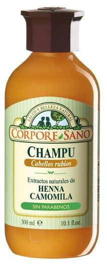Corpore Sano Champú Henna Camomila Rubio 300ml