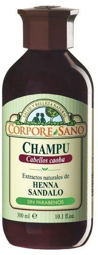 Corpore Sano Champú Henna Caoba 300ml