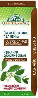 Corpore Sano Crema Colorante Henna Castaño 60ml
