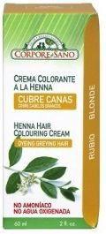 Corpore Sano Crema Colorante Henna Rubio 60ml