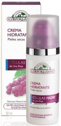 Corpore Sano Crema Hidratante Células Madre Pieles Secas 50ml