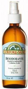 Corpore Sano Desodorante Tilo Salvia spray 150ml