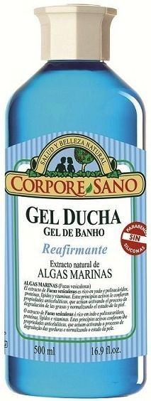 Corpore Sano Gel de Baño Algas Marinas 500ml