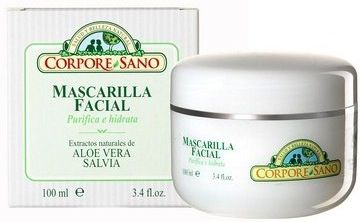 Corpore Sano Mascarilla Facial Aloe y Salvia 100ml