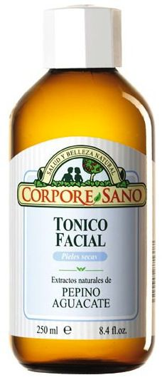 Corpore Sano Tónico Facial Pepino y Aguacate 250ml