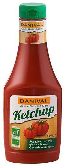 Danival Ketchup Bio 560g