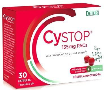 Deiters Cystop 30 cápsulas