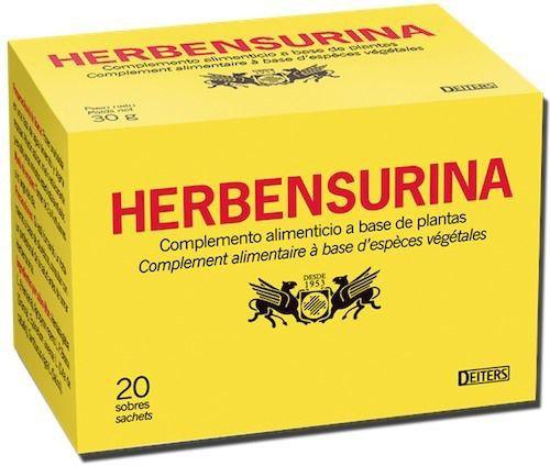 Deiters Herbensurina infusión 20 sobres