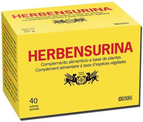 Deiters Herbensurina infusión 40 sobres