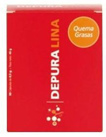 Depuralina Roja Quema Grasas 90 cápsulas