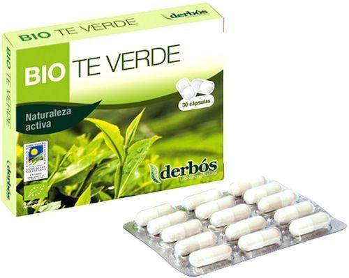 Derbos Bio Té Verde 30 cápsulas