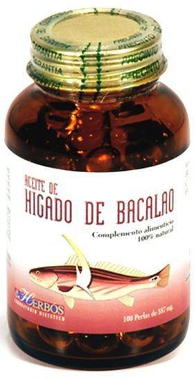 Derbos Hígado de Bacalao 100 cápsulas