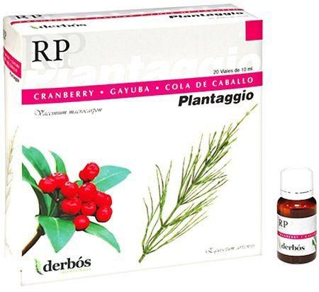 Derbos Plantaggio RP 20 ampollas
