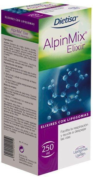 Dietisa Alpinmix jarabe 250ml