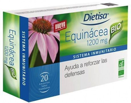 Dietisa Echinacea 1200mg BIO 20 ampollas