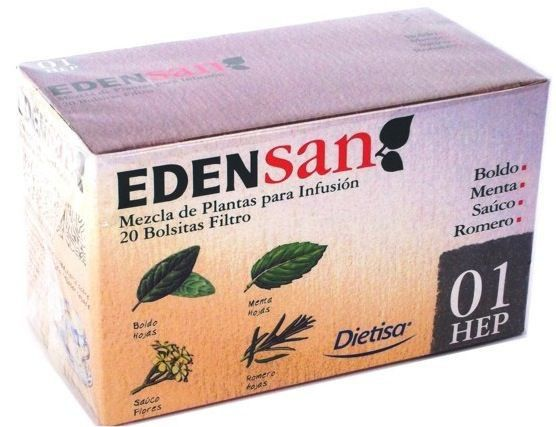 Dietisa Edensan 01 HEP infusiones 20 unidades