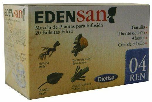 Dietisa Edensan 04 REN Infusiones 20 unidades