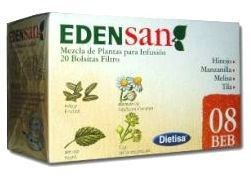 Dietisa Edensan 08 BEB Infusiones 20 unidades