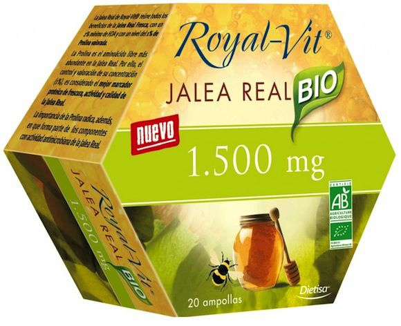 Dietisa Jalea Real Royal Vit 1500mg BIO 20 ampollas