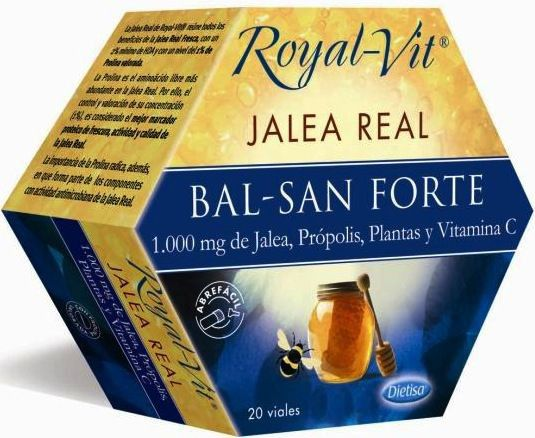 Dietisa Jalea Real Royal Vit Bal-San 20 ampollas