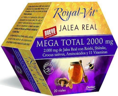 Dietisa Jalea Real Royal Vit Mega Total 2000mg 20 ampollas