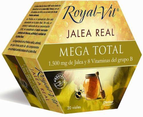Dietisa Jalea Real Royal Vit Mega Total Reformulada 20 ampollas
