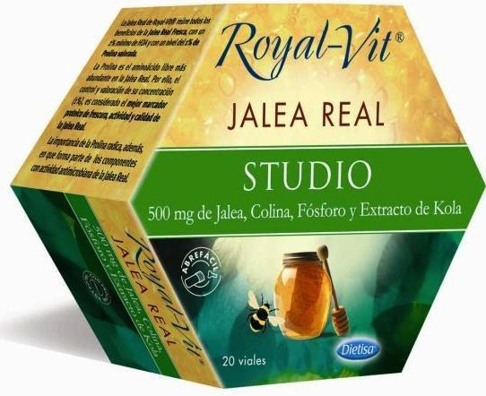 Dietisa Jalea Real Royal Vit Studio 20 ampollas
