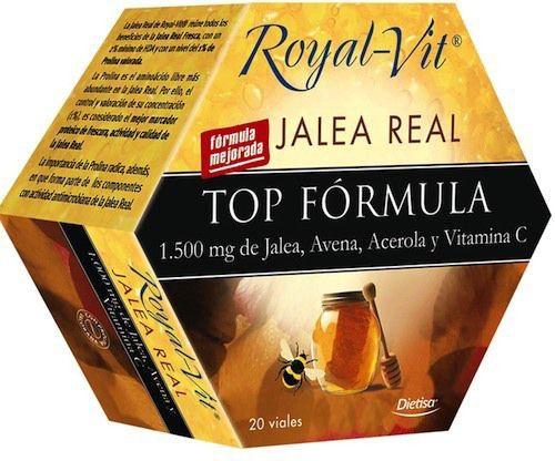 Dietisa Jalea Real Royal Vit TopFormula 20 ampollas
