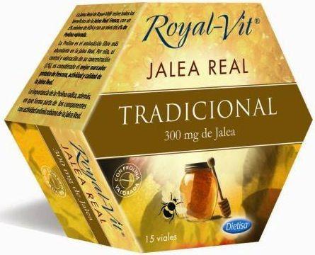 Dietisa Jalea Real Royal Vit Tradicional 15 ampollas