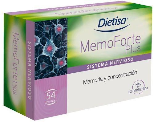 Dietisa Memoforte Plus 54 perlas