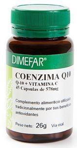 Dimefar Coenzima Q10 Plus 45 cápsulas