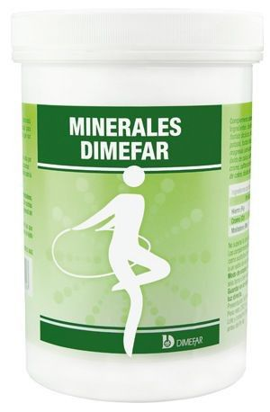 Dimefar Minerales 500 cápsulas