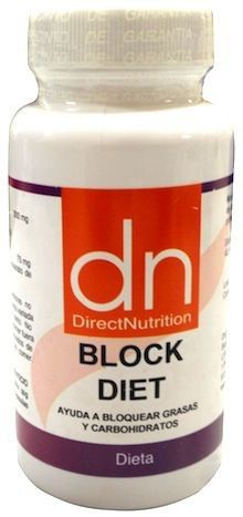 Direct Nutrition Block Diet 60 cápsulas