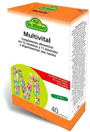Dr. Dünner Multivital 40 comprimidos