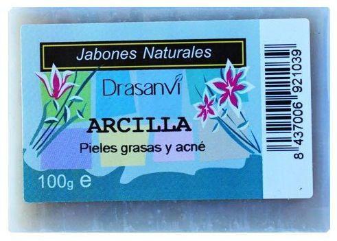 Drasanvi Jabón Arcilla 100g