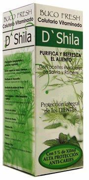 D'Shila Buco Fresh Salvia Romero Colutorio 500ml