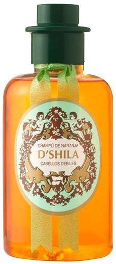 D'Shila Champú Naranja Cabello Débiles 300ml
